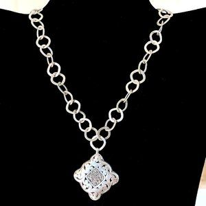 Lois Hill 925 Silver Necklace